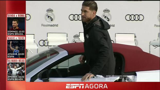 Atletas do Real Madrid recebem 'mimos' da Audi; Sérgio Ramos esnoba na escolha