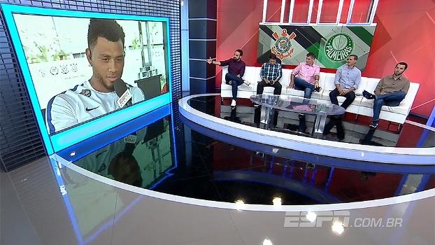 Kazim e Egídio falam de expectativa para clássico entre Corinthians e Palmeiras