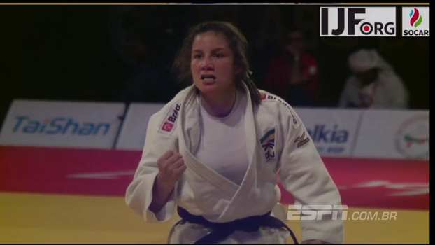 Maria Portela conquista bronze no Grand Slam de Abu Dhabi