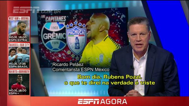 Comentarista da ESPN México fala de frustração após eliminação do Pachuca: 'Parecia pelada de quando éramos crianças'