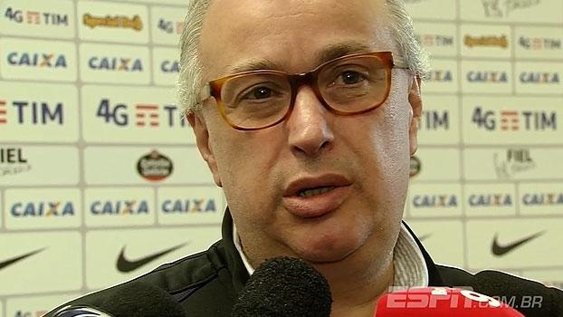 Roberto de Andrade nega pressão em arbitragem e vê Siemsen de 'cabeça quente'