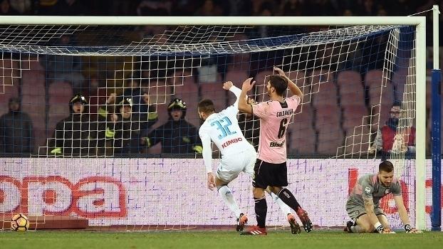 Italiano: Gols de Napoli 1 x 1 Palermo