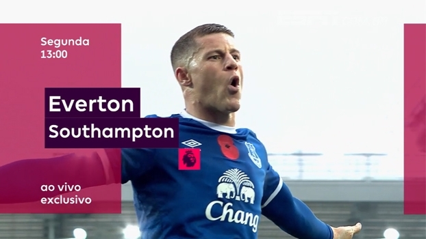 Boxing Day da Premier League: Everton x Southampton, segunda, às 13h, na ESPN Brasil e WatchESPN