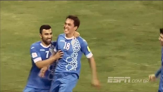 Uzbequistão vence China e assume a segunda colocação do grupo A das eliminatórias asiáticas