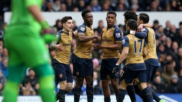 Inglês: Melhores momentos de Everton 0 x 2 Arsenal