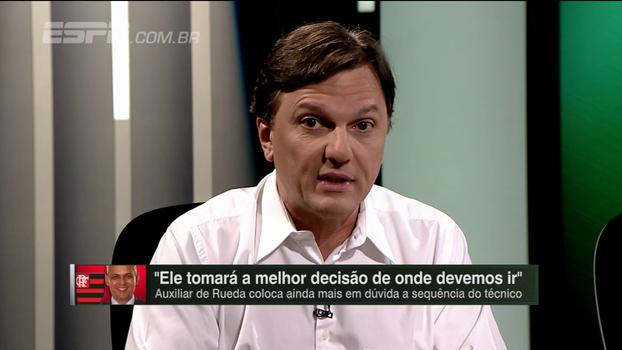 Mauro cobra postura mais incisiva do Flamengo após declaração de auxiliar de Rueda