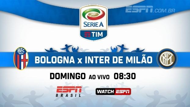 Bologna x Inter de Milão pelo Italiano: domingo, às 08h30, na ESPN Brasil e no WatchESPN