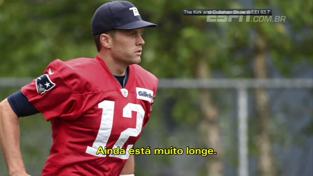 Favoritismo? Brady mantém os pés no chão com os Patriots: 'Temos muito caminho a percorrer'