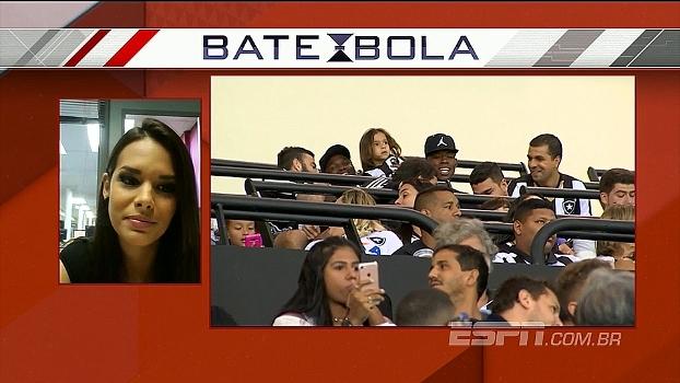Fernanda Maia comenta torcida do Botafogo hostilizando Sassa no Engenhão e explica negociação para saída do clube