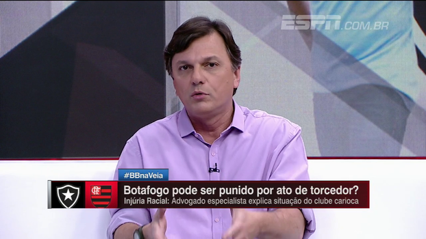 Para Mauro, atitudes criminosas de torcedor deve resultar em pena ao indivíduo, clube não tem controle sobre as pessoas