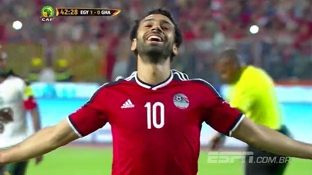 Egito vence Gana e segue na liderança do grupo E das Eliminatórias Africanas