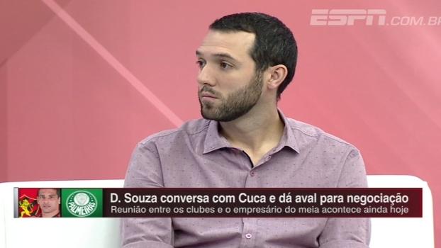 'Ídolo vai embora de novo do meu clube', Hofman analisa saída de Diego Souza do Sport