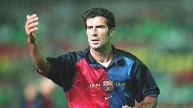 Em 99, gols de Figo, Rivaldo e Luis Enrique levaram o Barcelona à vitória sobre o La Coruña de Djalminha