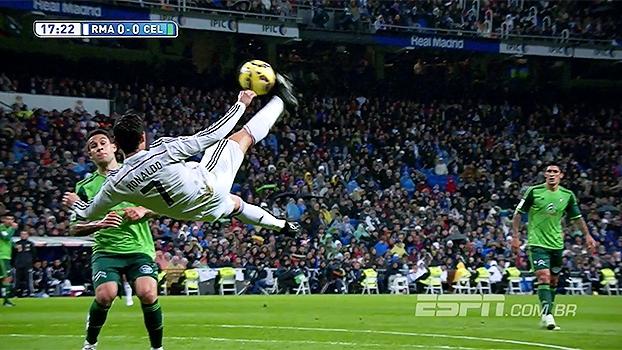 Cristiano Ronaldo deu linda bicicleta e não marcou por muito pouco ... 79af5fa89a42c