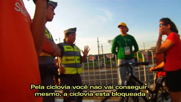 Como é ir de bike a um jogo da Copa em São Paulo? | Bike é Legal
