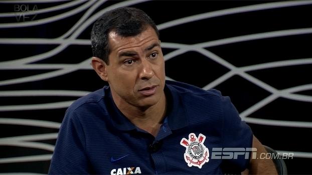 'Falta de respeito o que fizeram com Oswaldo', diz Carille sobre torcida próxima ao banco de reservas
