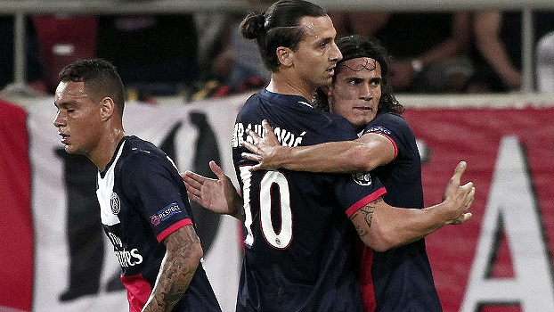 Champions League: Gols de Olympiacos 1 x 4 Paris Saint-Germain