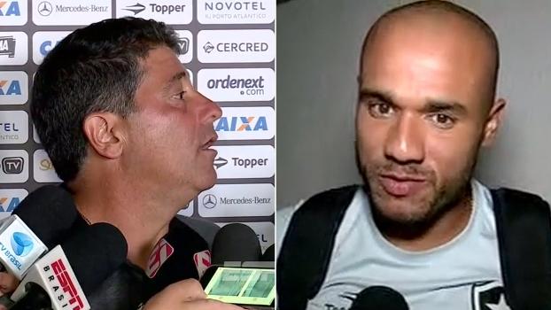 Auxiliar do Botafogo brinca: 'Eu era a filial do Jair no campo'; Roger comenta gol de Sassá