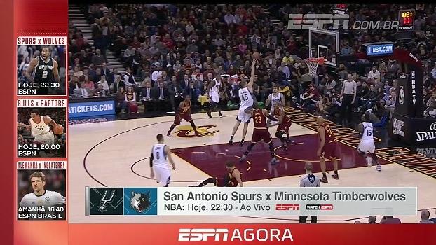 NBA e Bola da Vez com Fagner; tudo da programação da ESPN nesta terça-feira