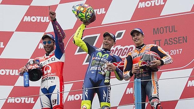 Valentino Rossi leva o MotoGP de Assen e encerra jejum de 1 ano