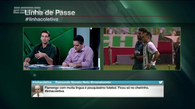 Para Arnaldo Ribeiro, Felipe Melo poderia ter sido usado mais vezes pelo Palmeiras
