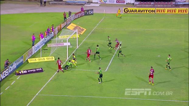 Assista aos gols da vitória do CRB sobre o América Mineiro por 2 a 1!