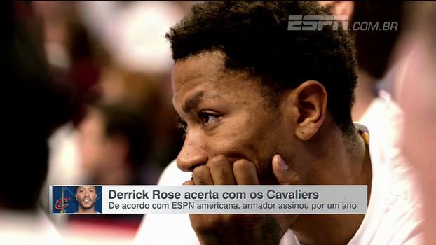 Após um ano nos Knicks, tudo indica que Derrick Rose assinou com os Cavs pela próxima temporada