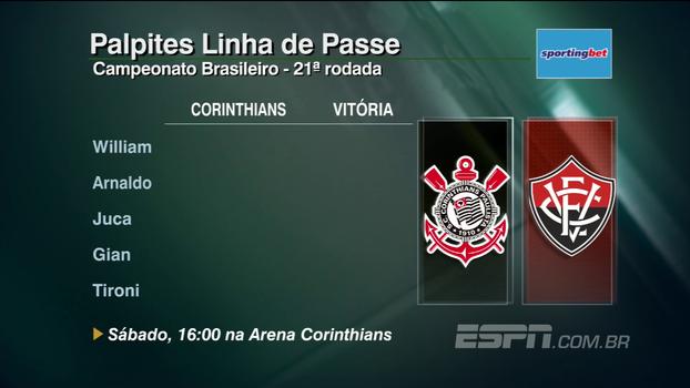 Confira os palpites do 'Linha de Passe' para a 21ª rodada do Campeonato Brasileiro