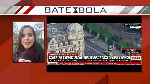 Atentado em Londres; Direto da Inglaterra, Natalie Gedra atualiza as informações