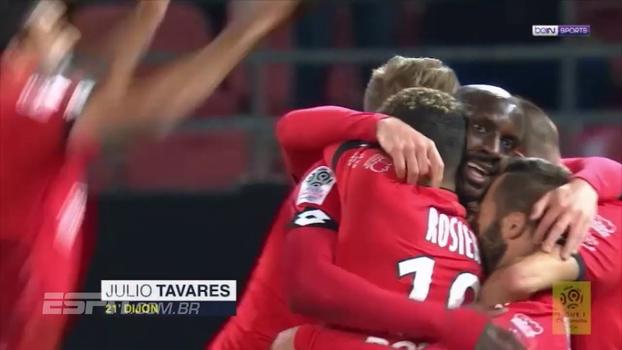 Com gol de atacante de Cabo Verde, Dijon bate o surpreendente Nantes e foge da degola