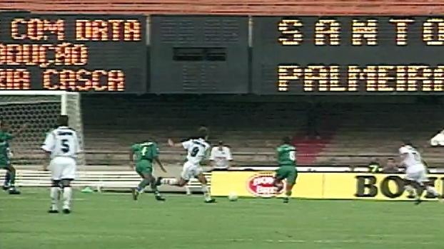 Santos x Palmeiras de 97 teve golaço de Zinho, viradas e mais; relembre