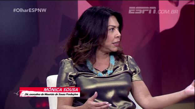 Mônica Sousa fala no Olhar ESPNW sobre inclusão da mulher no esporte: 'Os pais não incentivam as meninas'