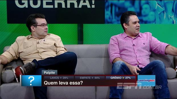 Veja os palpites de Nicola, Unzelte, Bertozzi, Rômulo e Vicari para a final da Libertadores