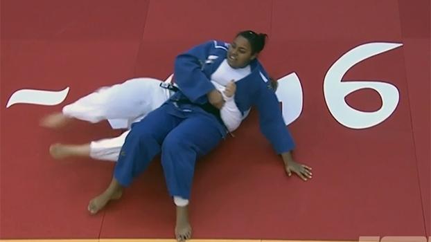 Maria Suelen Altheman vence alemã e garante o ouro no Grand Prix de judô de Abu Dhabi