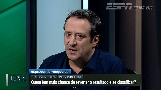 Gian analisa 'falta de intensidade' do Palmeiras: 'Time contra a Ponte tinha que ter mudanças'
