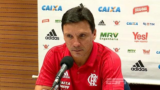 Zé Ricardo aprova partida do Fla: 'Estamos reencontrando nosso melhor jogo'