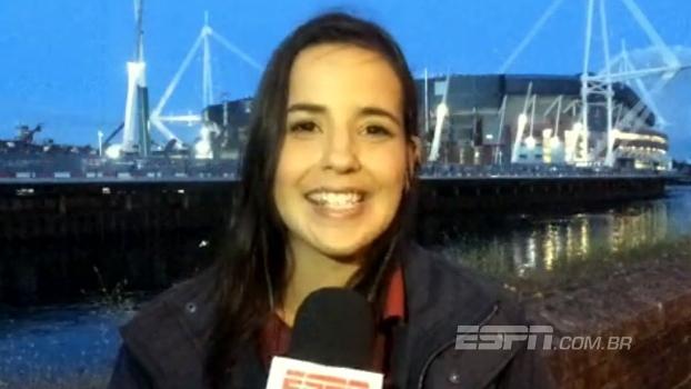 Direto de Cardiff, Natalie Gedra traz o clima após o título do Real Madrid sobre a Juventus