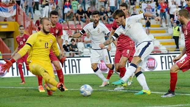 0e5000b35d Itália empata com Sérvia e segue em 1º no grupo 2 da Euro sub-21