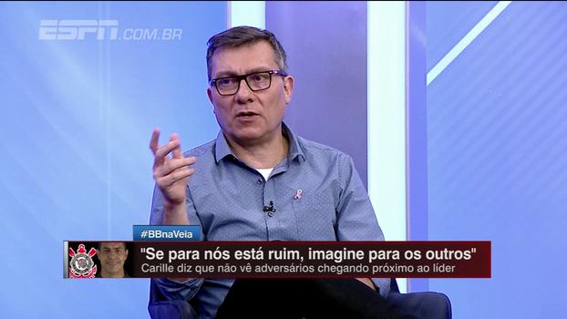 Calçade questiona momento de críticas de Bolzan a Héber: 'A convicção não existe, existe a conveniência'