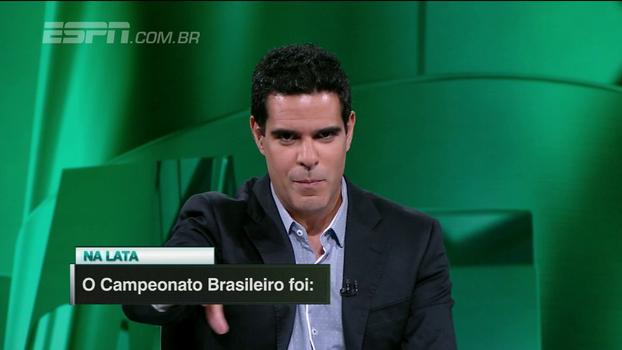 Na lata: em uma palavra, veja como os comentaristas do 'Linha de Passe' definiram o Brasileirão