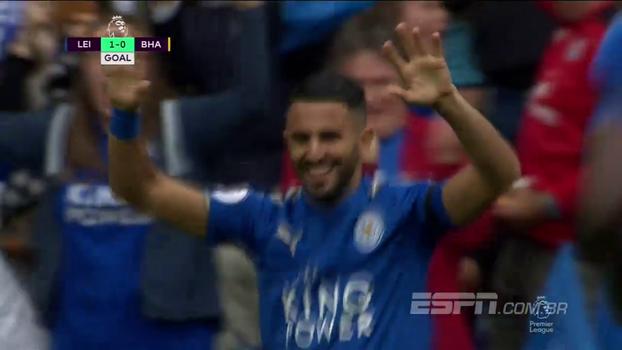 Premier League: Gols de Leicester 2 x 0 Brighton