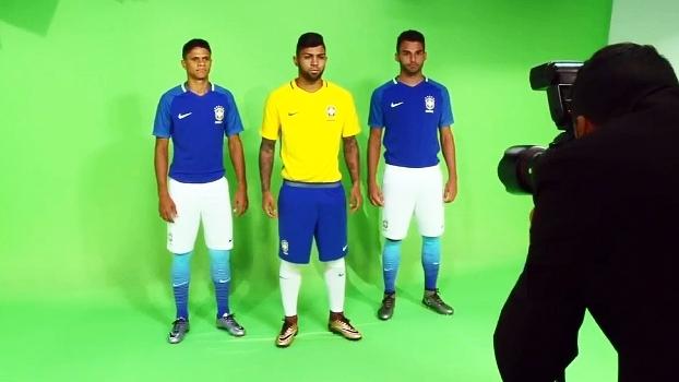fbed25f50c7ca Veja os novos uniformes da seleção brasileira - ESPN
