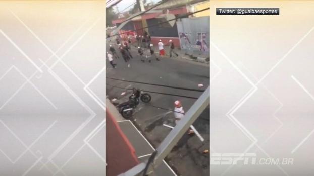 Em Pelotas, torcidas de Inter e Brasil-RS brigam nas ruas próximas ao estádio