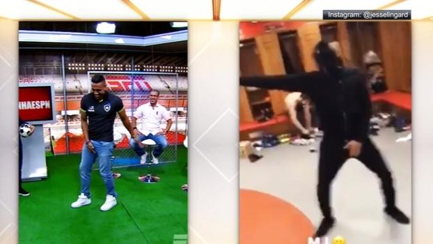 Quem leva mais jeito? Sidão e Lingard se transformam em Michael Jackson e dançam 'Beat It'