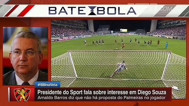 Presidente do Sport fala sobre interesse do Palmeiras em Diego Souza e propostas de outros clubes