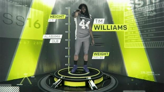 Sport Science: entenda por que Tim Williams, o terror dos quarterbacks, é tão eficiente nos sacks