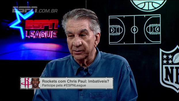Zé Boquinha comenta a forca ofensiva do Houston Rockets e o papel de Chris Paul no time