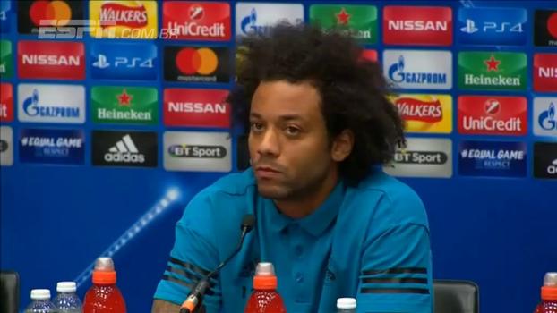 Marcelo minimiza fase do Real: 'Temos tempo para fazer o time voltar para seu lugar, que é acima de todos'