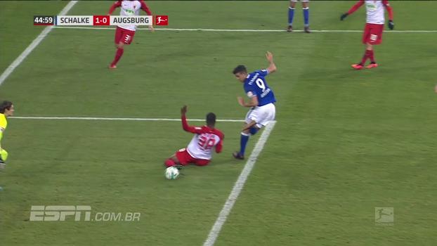 Assista aos gols da vitória do Schalke sobre o Augsburg por 3 a 2!