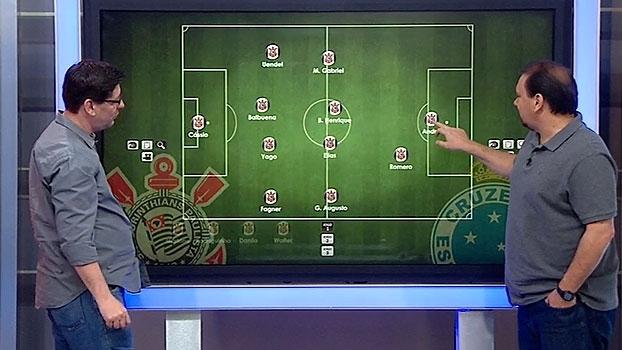 Marquinhos Gabriel ou Guilherme? Alê e Unzelte projetam Corinthians contra o Cruzeiro